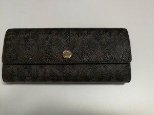 Michael Kors Wallet black brown-bordeaux