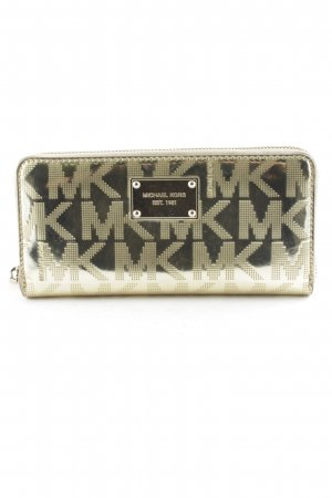 Michael Kors Wallet gold-colored abstract pattern casual look
