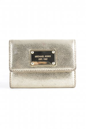 Michael Kors Wallet gold-colored extravagant style