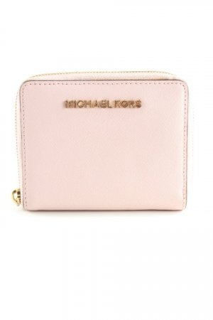 Michael Kors Portefeuille rose clair-doré style décontracté