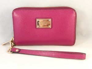Michael Kors Wallet magenta leather