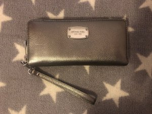 Michael Kors Geldbörse Jet Set Travel- Leder- Metallic-Effekt