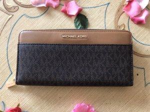 Michael Kors Wallet light brown-brown leather