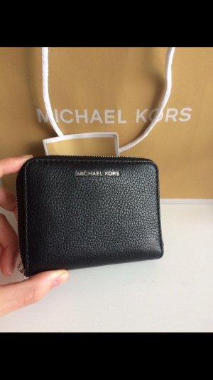 Michael kors Geldbörse Leder schwarz