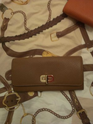 Michael Kors Wallet gold-colored-cognac-coloured