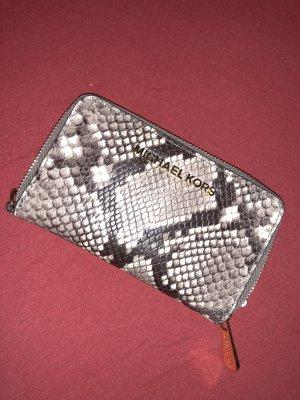 Michael Kors Custodia per cellulare marrone-grigio-bianco sporco