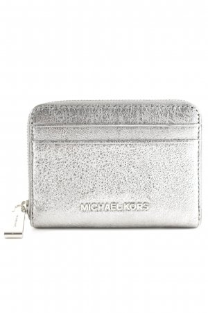 "Michael Kors Wallet ""Money Pieces ZA Card Case LT Pewter"" silver-colored"