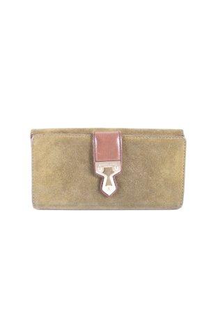 Michael Kors Wallet olive green-brown vintage look
