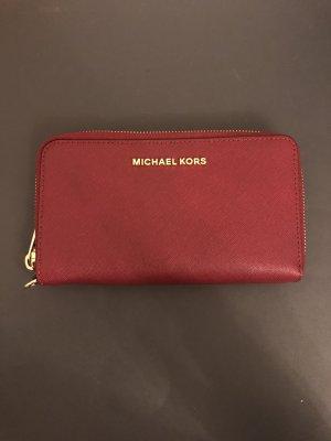 Michael Kors Geldbörse Portmonnaie rot
