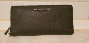 Michael Kors Geldbörse schwarz/ silber Neu