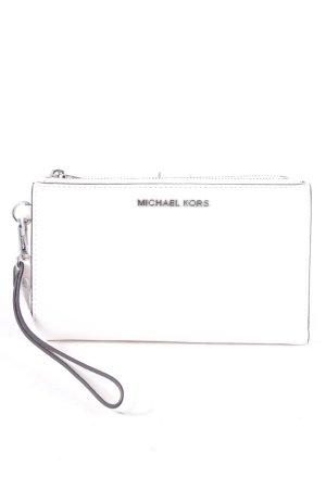 Michael Kors Geldbörse weiß minimalistischer Stil