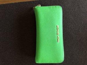 Michael Kors Wallet camel-green leather