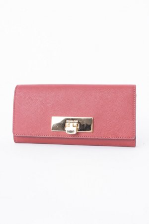 Michael Kors Wallet brown red-gold-colored leather