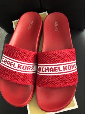 Michael Kors Claquette rouge