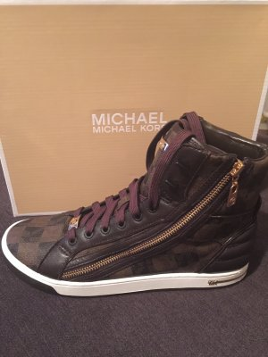 Michael Kors Glam essex high top braun Gr.39
