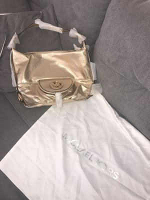 Michael Kors Carry Bag sand brown-gold-colored leather