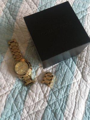 Michael Kors ❤️ Gold mit Steinen - Np 390€