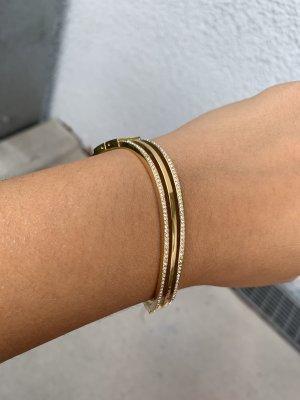 Michael Kors gold Steine Armspangen