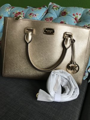 Michael Kors Carry Bag gold-colored