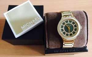 Michael Kors Green Crystal Damenuhr  MK3409.