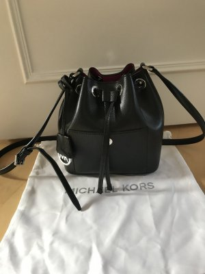 Michael Kors Greenwich Medium Saffiano Leather Bucket Bag