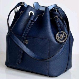 Michael Kors Greenwich Tasche Blau