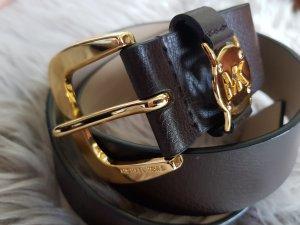 Michael Kors Gürtel braun gold XS