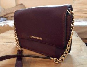 Michael Kors Shoulder Bag bordeaux-brown violet