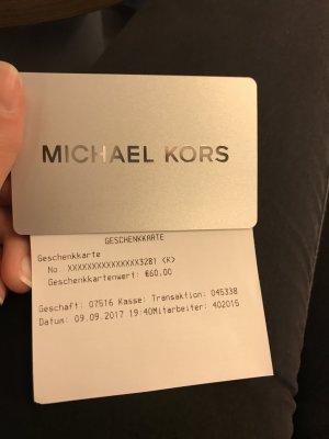 Michael Kors Gutschein Karte!! 60€ verkaufe für 50€