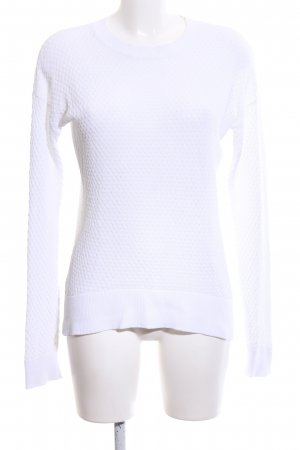 Michael Kors Gehaakte trui wit volledige print casual uitstraling