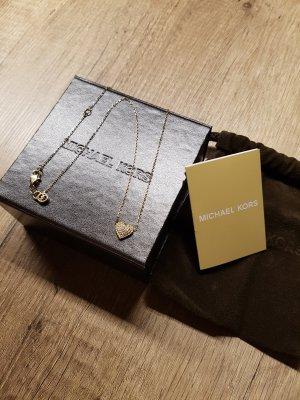 Michael Kors Halskette gold Herz Strass