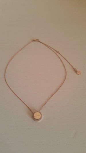 Michael Kors Necklace rose-gold-coloured-sand brown