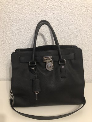 Michael Kors Tote black-silver-colored