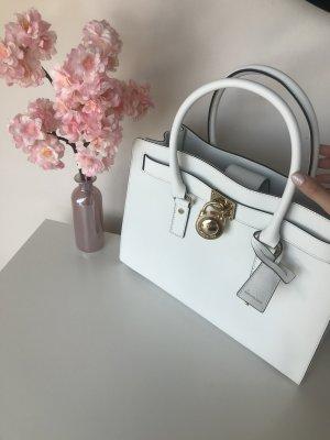 Michael Kors Satchel white leather