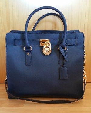 Michael Kors Hamilton Bag groß in dunkelblau