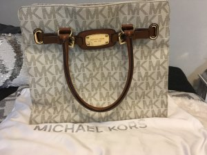 Michael Kors Carry Bag cream-cognac-coloured