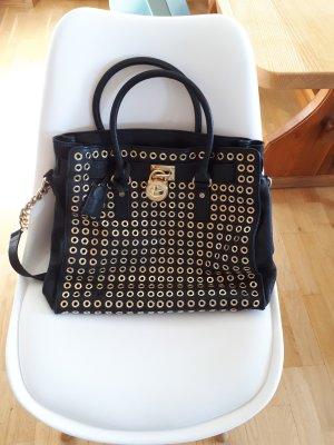 Michael Kors Handbag black-sand brown leather
