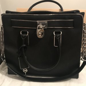 Michael Kors Borsa larga nero