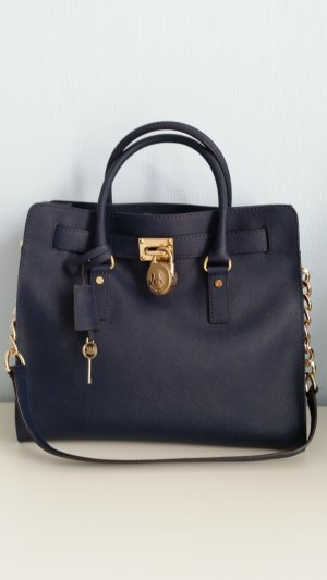 Michael Kors Tote dark blue leather