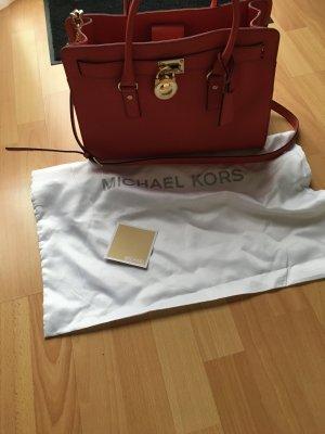Michael Kors - Hamilton LG Handtasche Farbe watermelon