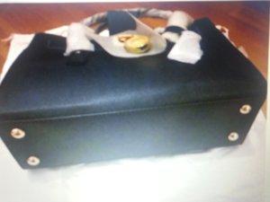 Michael Kors Tas donkerblauw-goud Leer