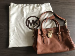 Michael Kors Satchel cognac-coloured