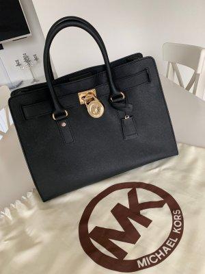 Michael Kors Hamilton Tasche Schwarz