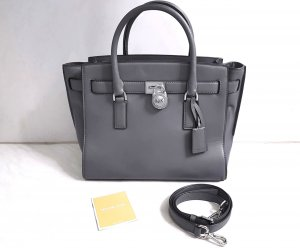 Michael Kors Hamilton Traveler LG Heather Grey ♥
