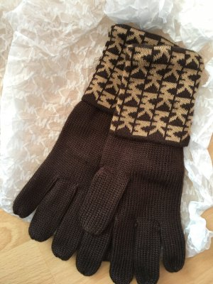 Michael Kors Gloves bronze-colored