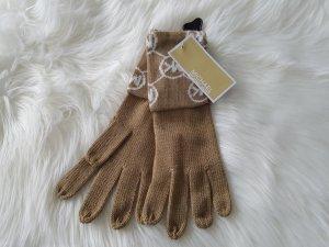 Michael Kors Handschuhe NEU Beige weiss