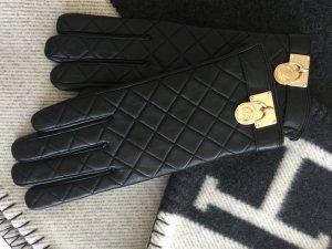 Michael Kors Handschuhe Schwarz Gold