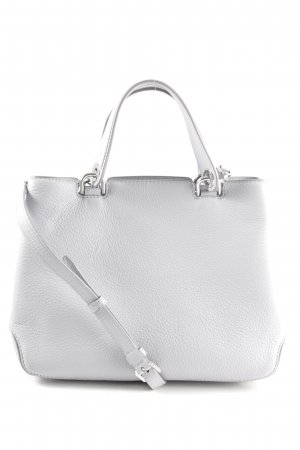 Michael Kors Handtasche hellgrau Business-Look