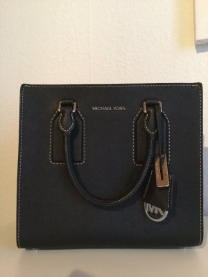 Michael Kors Carry Bag black-silver-colored