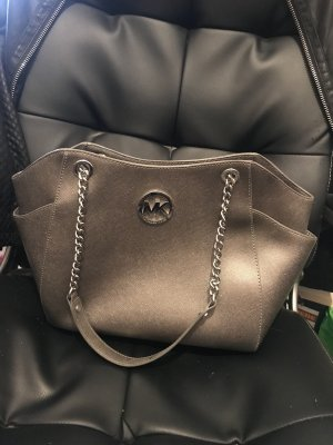 Michael Kors Handbag silver-colored